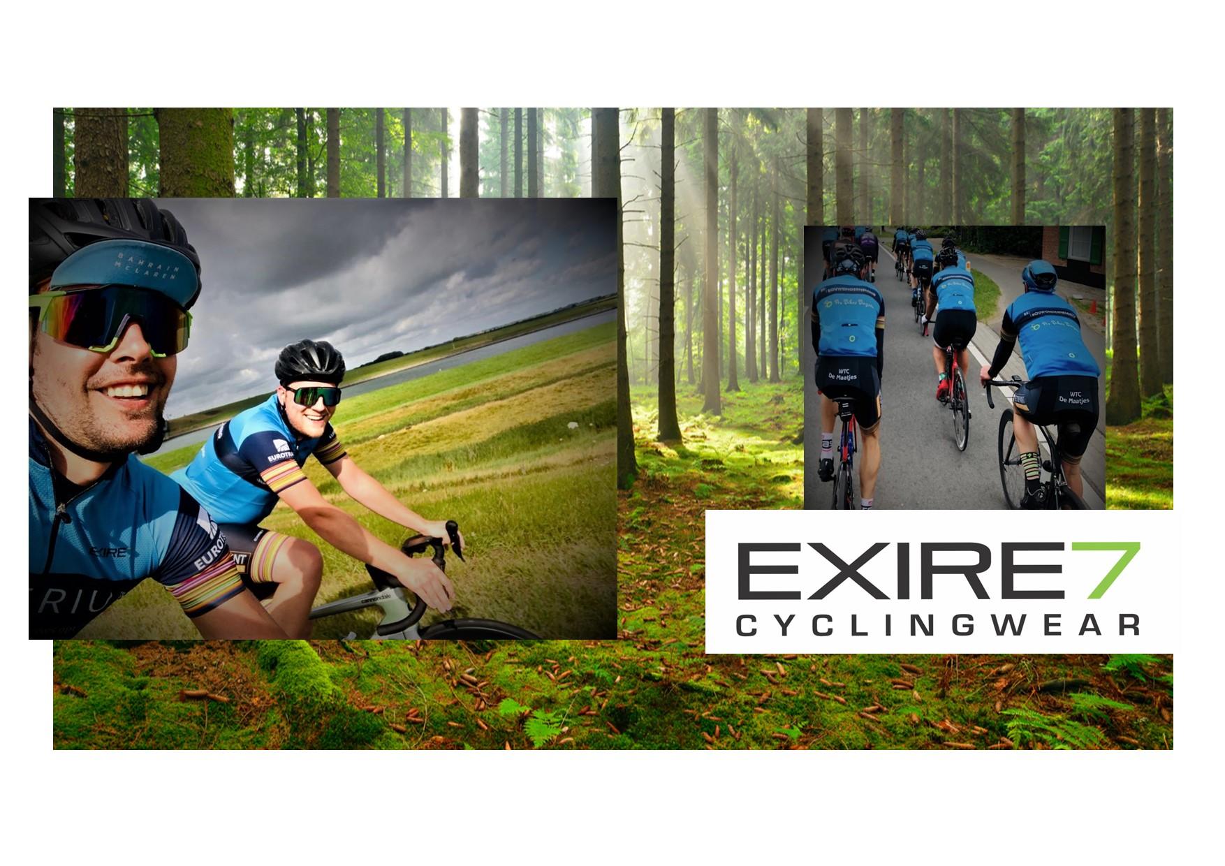 EXIRE7 - cyclingwear - de maatjes
