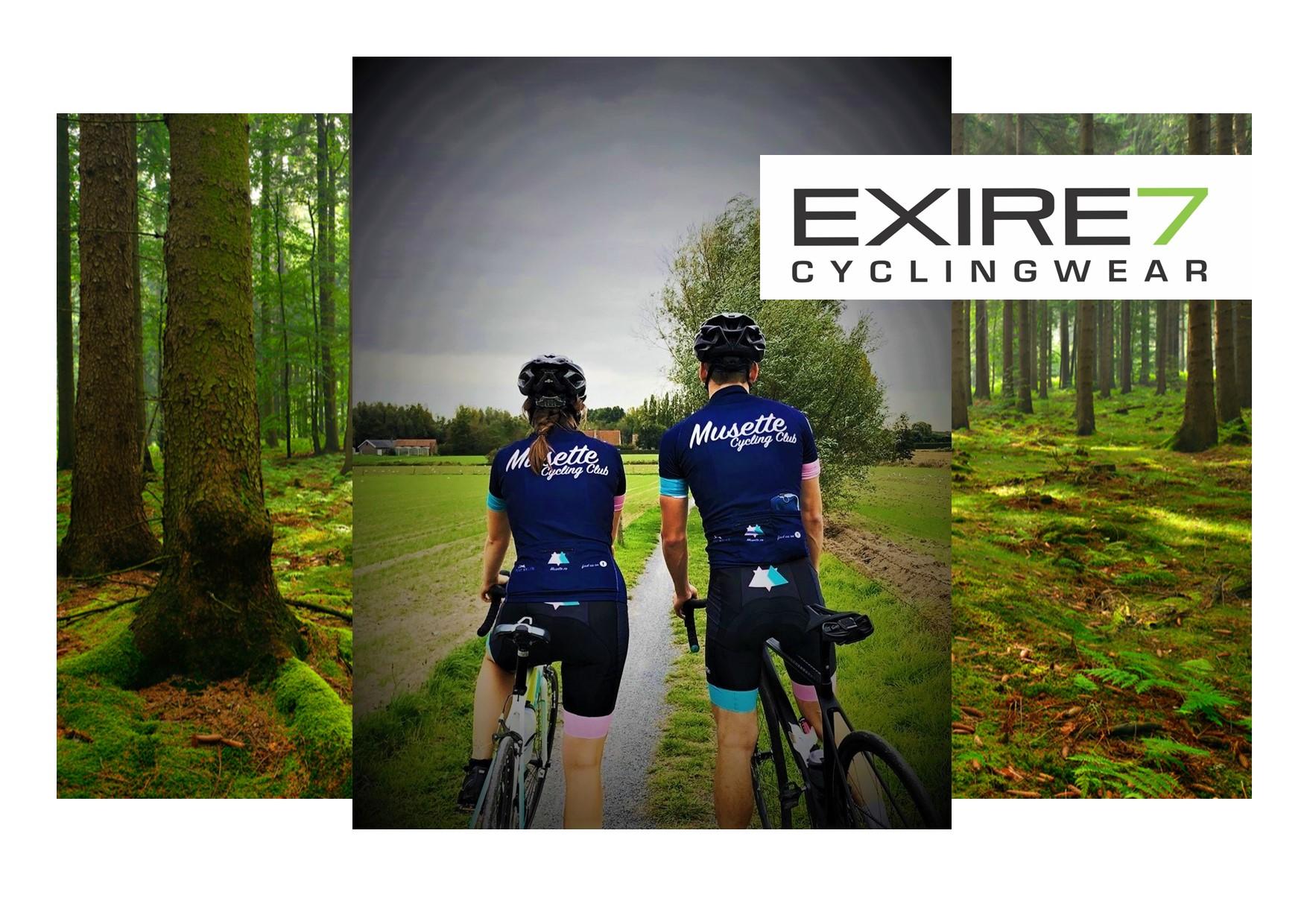 EXIRE7 - cyclingwear - Musette