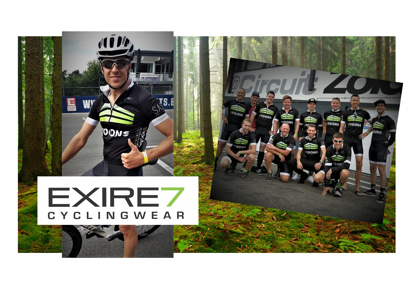 EXIRE7 - cyclingwear - Sass Stoons