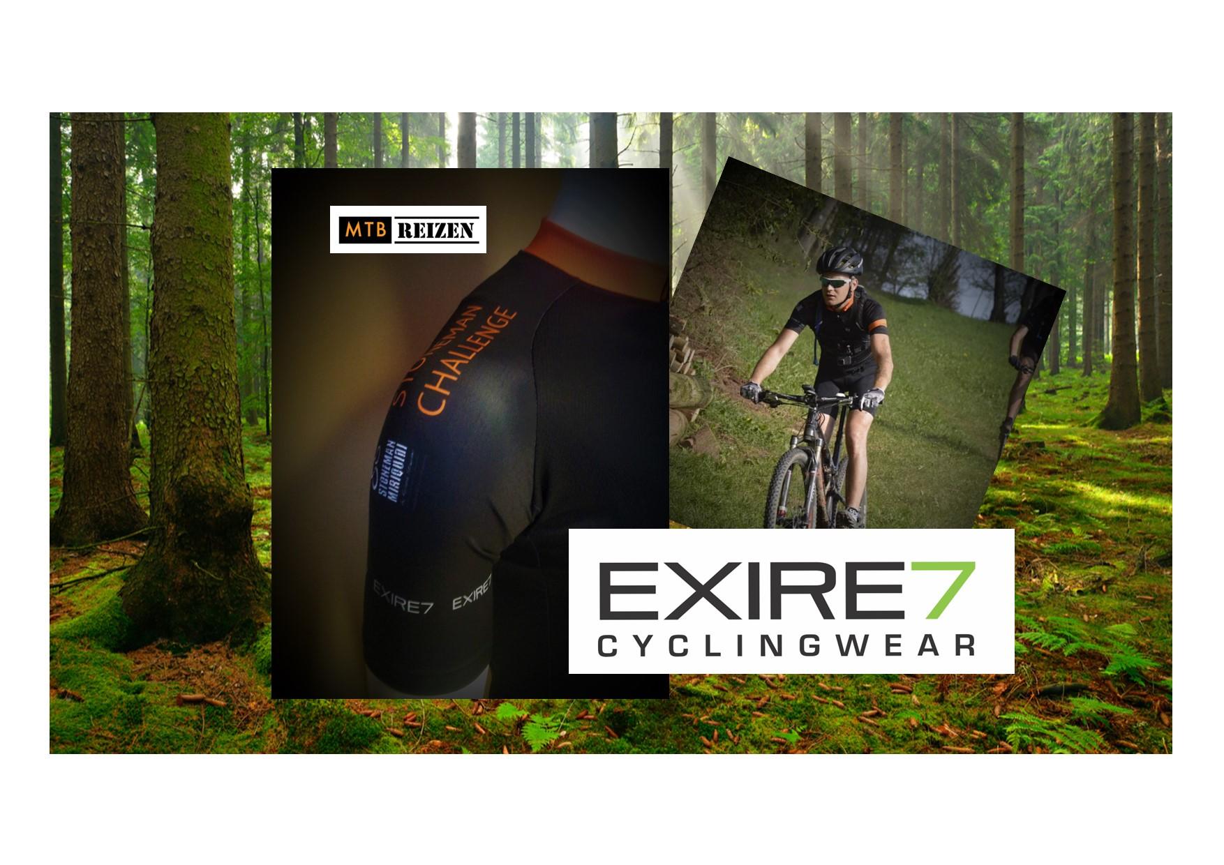 EXIRE7 - cyclingwear - Stoneman partner